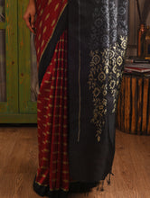 Load image into Gallery viewer, MELATI Saree - Bright Red
