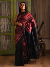 Load image into Gallery viewer, AGNI Silk Sari - Maroon