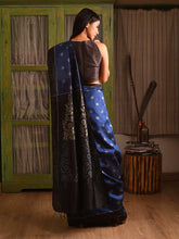 Load image into Gallery viewer, MELATI Saree - Regal Blue