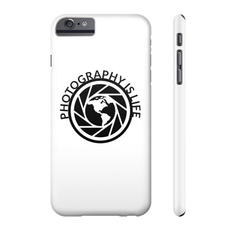 Photography is Life Phone Case - Globe