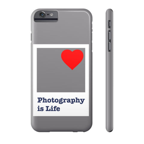 Photography is Life Phone Case - Polaroid