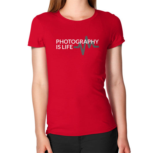 Photography is Life Tee - Heart Beat (Women's)