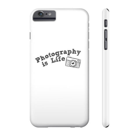 Photography is Life Phone Case - Camera