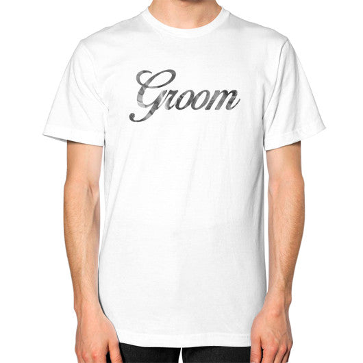 "Perfect ""Groom"" Tee - Gray"