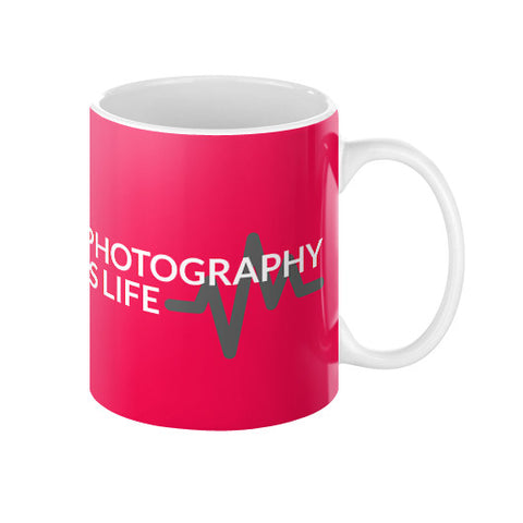 Photography is Life Coffee Mug