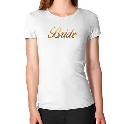 "Perfect ""Bride"" T-Shirt - Gold"