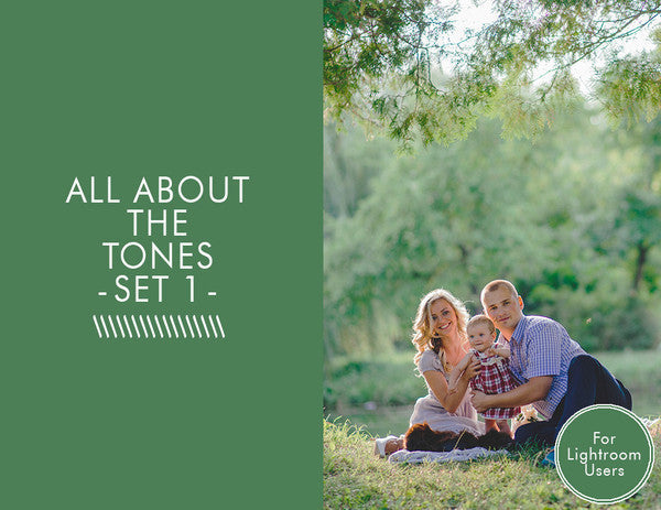 All about the Tones Presets -Set 1-
