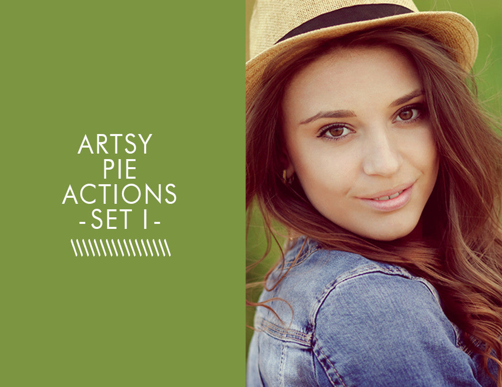 Artsy Pie Actions -Set 1-