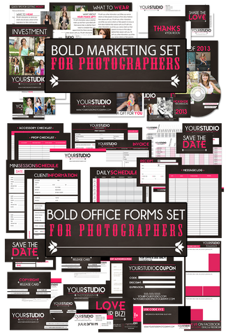 Bold Marketing & Office Forms Bundle