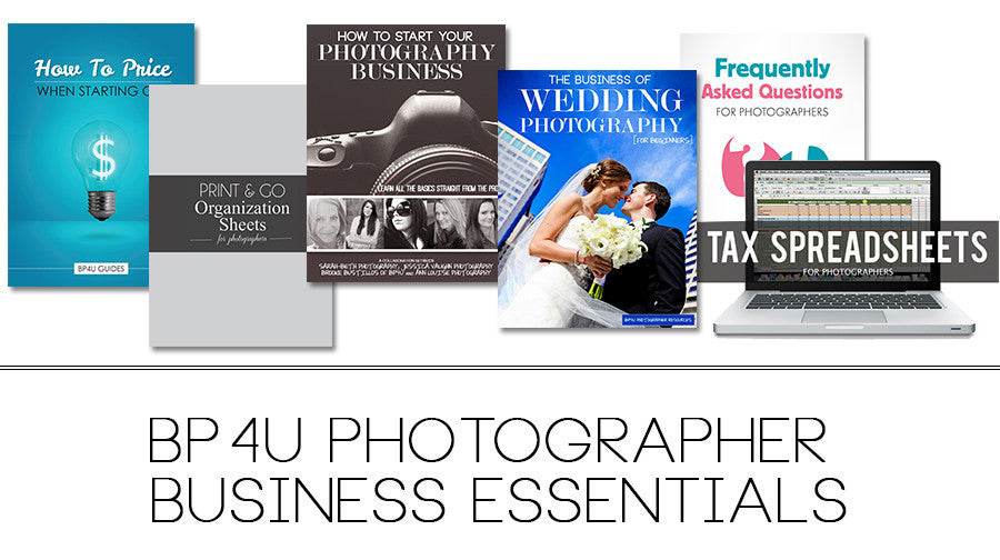 BP4U Photographer Business Essentials