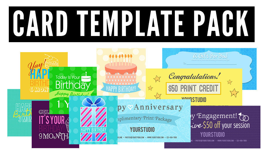 Card Template Pack