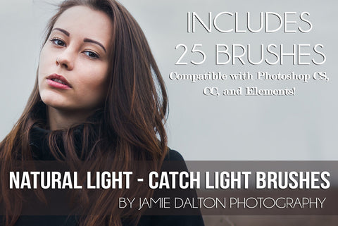 *NEW* Natural Light - Catch Light Brushes (for Photoshop)