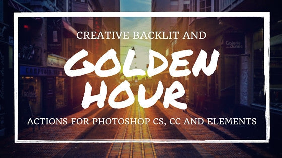 Creative Backlit Golden Hour Actions