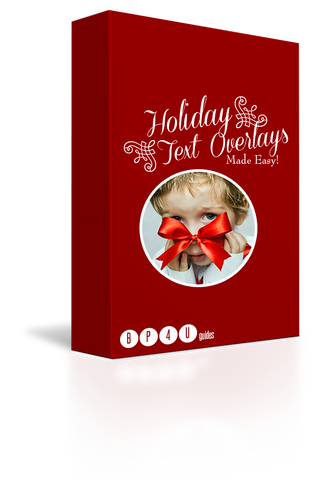 Holiday Text Overlays