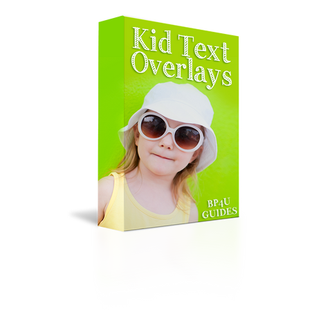 Kid Text Overlays