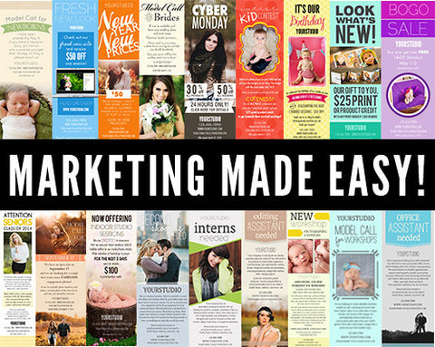 Marketing Made Easy! Templates