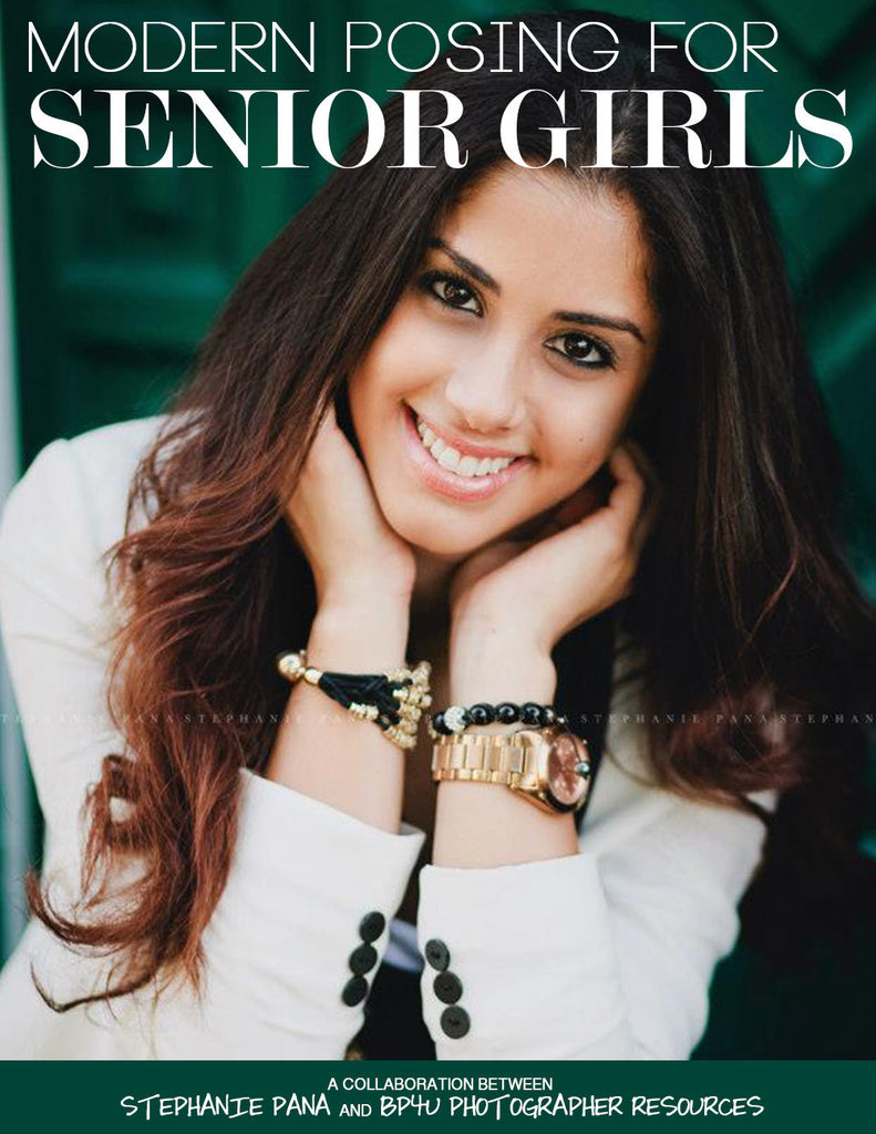 Modern Posing for Senior Girls