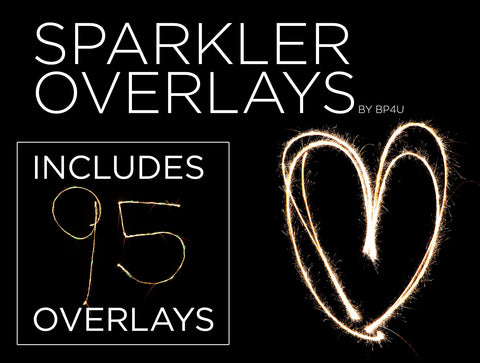 *NEW* Sparkler Overlays