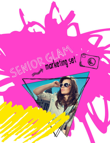 Senior Glam Marketing Set