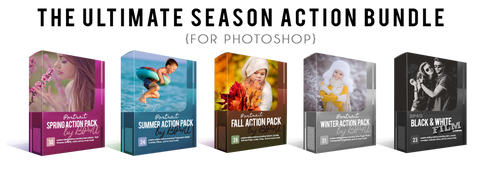 The Ultimate Season Action Bundle (Photoshop)