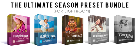The Ultimate Season Preset Bundle (Lightroom)