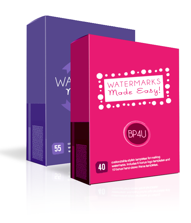 Watermarks Made Easy! {The Complete Collection}