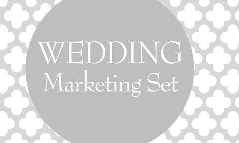 Wedding Marketing Set