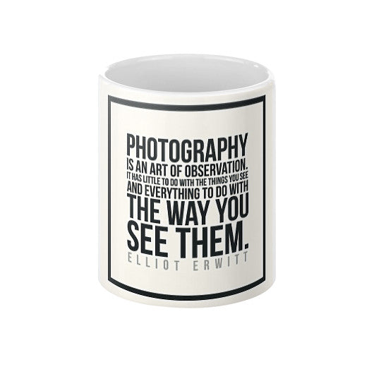 Photography is an Art Coffee Mug