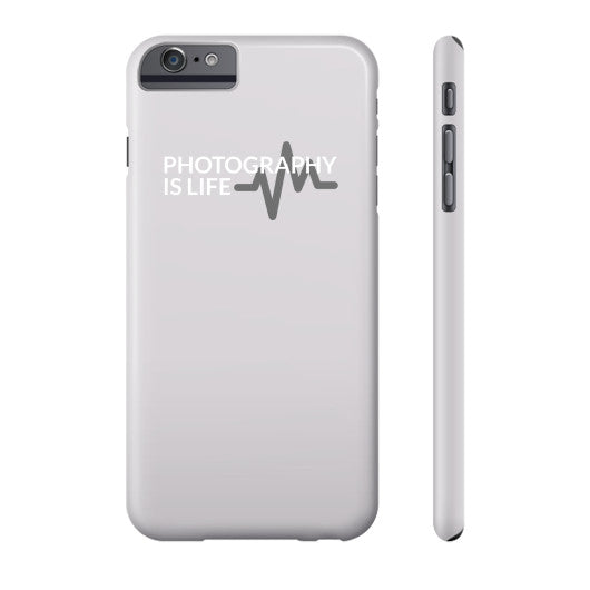 Photography is Life Phone Case - Heart Beat