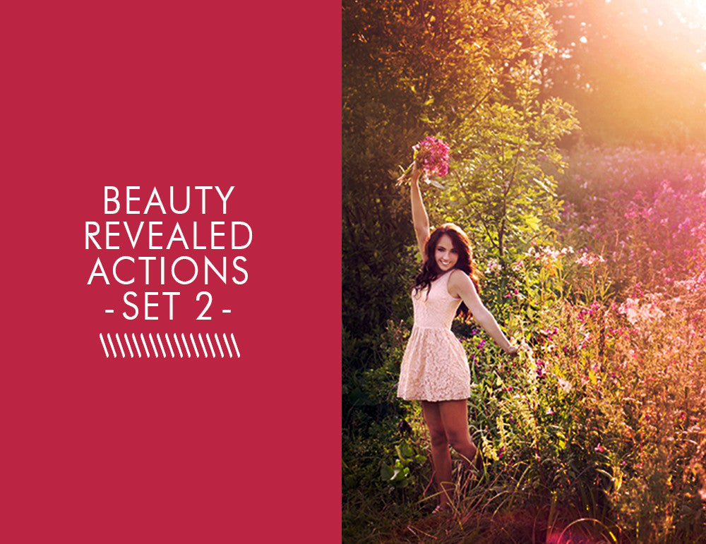 Beauty Revealed Actions -Set 2-