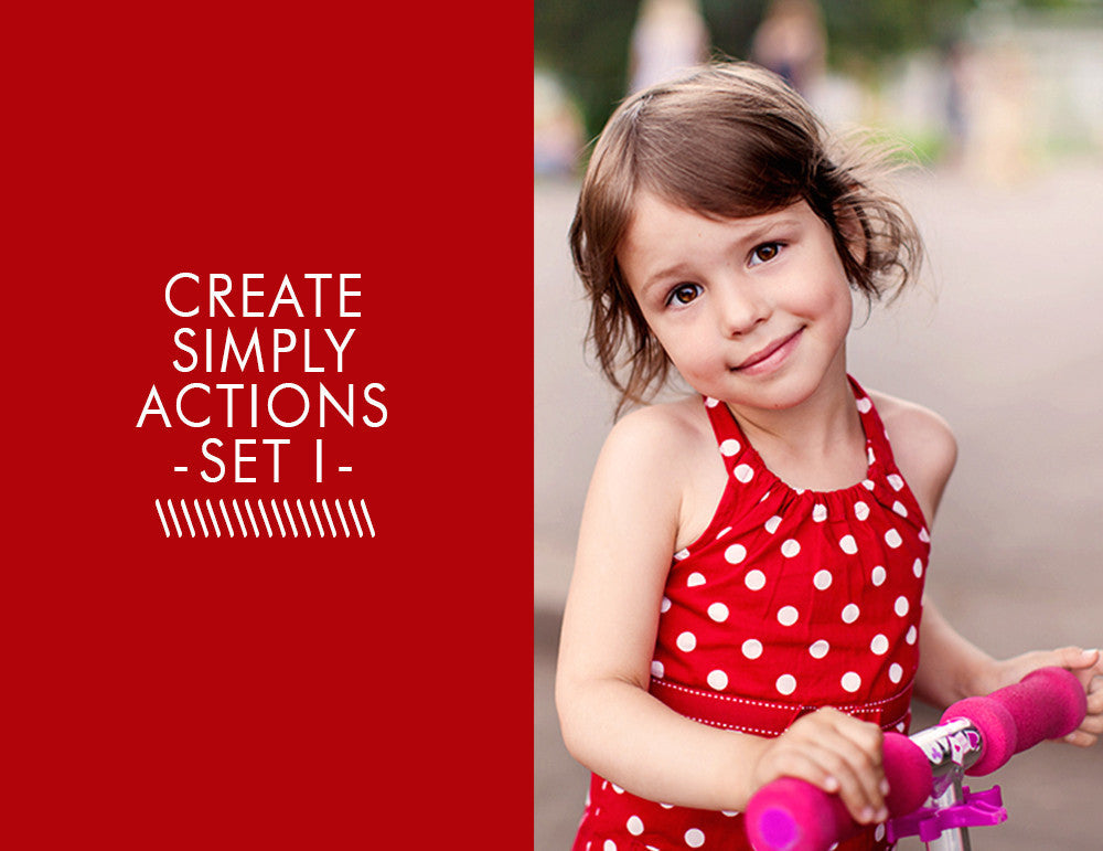 Create Simply Actions -Set 1-