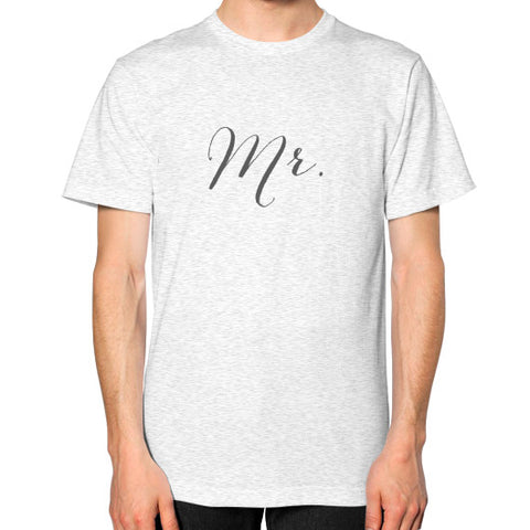 "Perfect ""Mr"" Tee - Gray"