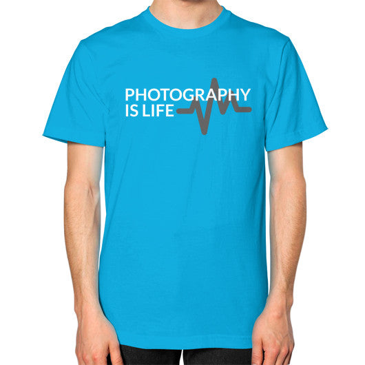 Photography is Life Tee - Heart Beat (Unisex)