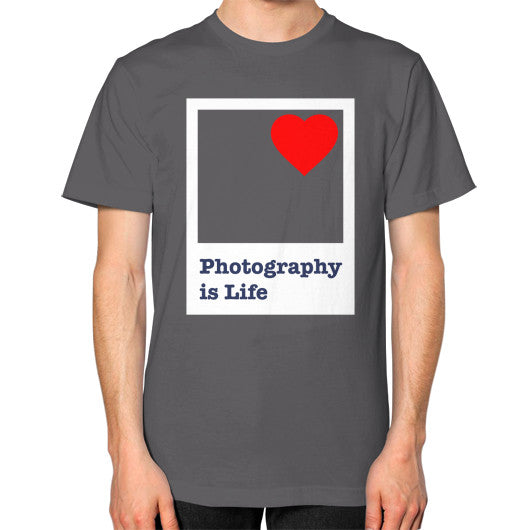 Photography is Life Tee - Polaroid (Unisex)