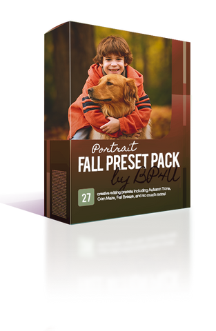 Fall Portrait Preset Pack (Lightroom)