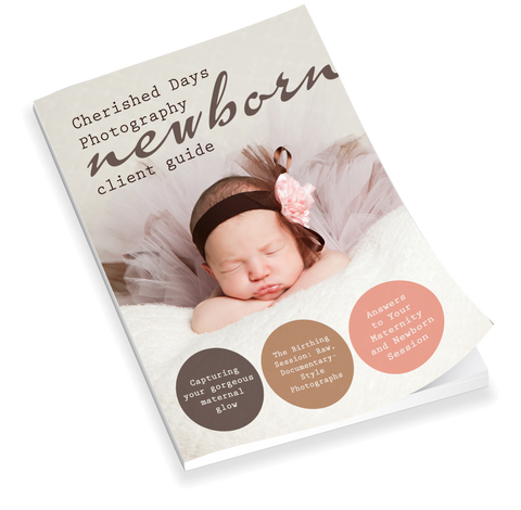 Newborn Welcome Packet Template {2nd Edition}