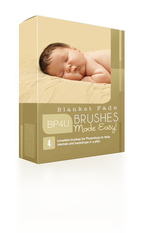 Newborn Blanket Fade Brushes
