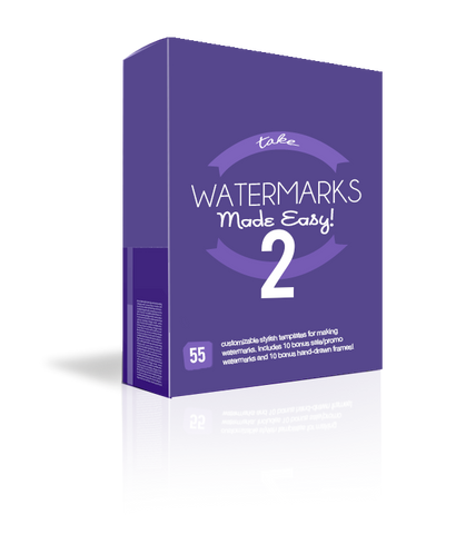 Watermarks Made Easy! {Volume 2}