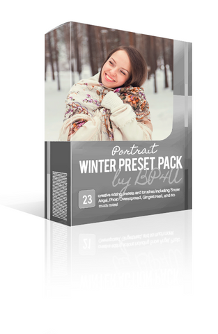 Winter Portrait Preset Pack (Lightroom)