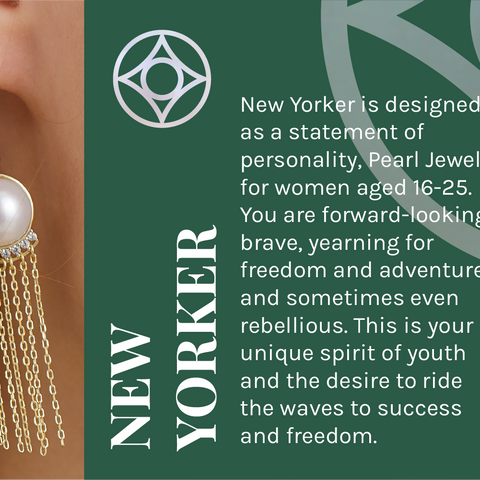Pearly Lustre New Yorker Collection
