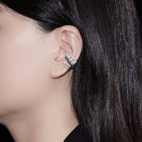 Pearly Lustre Elegant Freshwater Pearl Earrings WE00046 Product Image