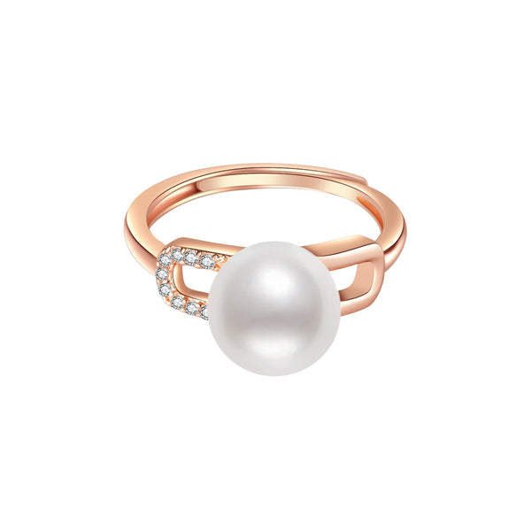 Pearly Lustre New Yorker Freshwater Pearl Ring WR00071 Product Image