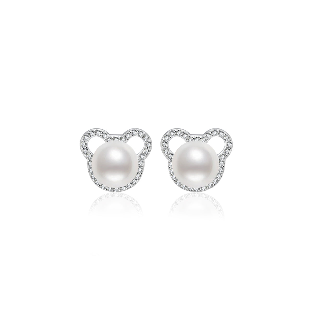 Pearly Lustre Wonderland Freshwater Pearl Earrings WE00075 Product Image