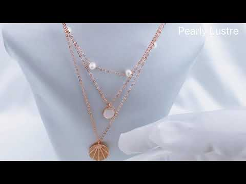 Pearly Lustre New Yorker Freshwater Pearl Necklace WN00179 Product Video