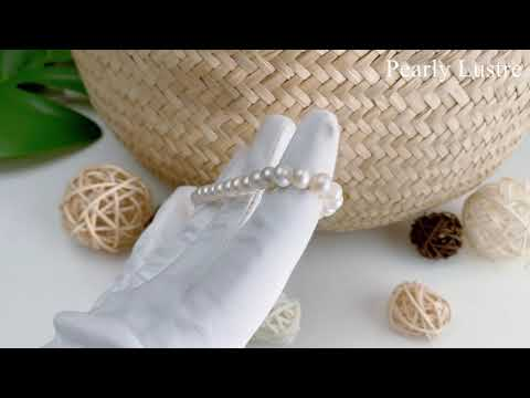 Pearly Lustre Wonderland Freshwater Pearl Bracelet WB00023 Product Video
