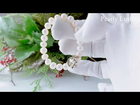 Pearly Lustre Wonderland Freshwater Pearl Bracelet WB00022 Product Video