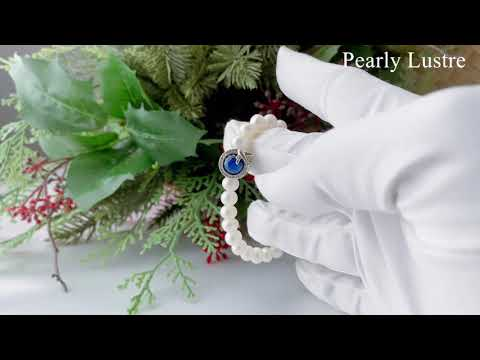 Pearly Lustre New Yorker Freshwater Pearl Bracelet WB00018 Product Video
