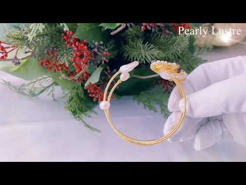 Pearly Lustre Passion for Life Freshwater Pearl Bracelet WB00001 Product Video