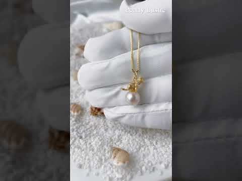 Pearly Lustre New Yorker Freshwater Pearl Necklace WN00034 Product Video