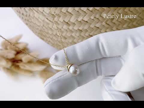 Pearly Lustre Elegant Freshwater Pearl Necklace WN00098 Product Video
